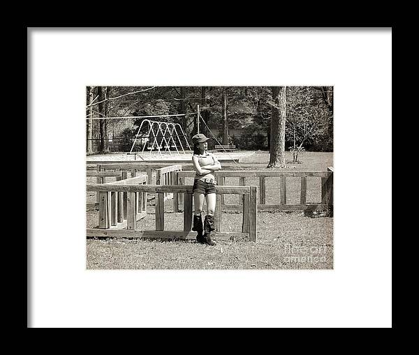 Lonely Framed Print featuring the photograph Waiting For You by Ester Rogers