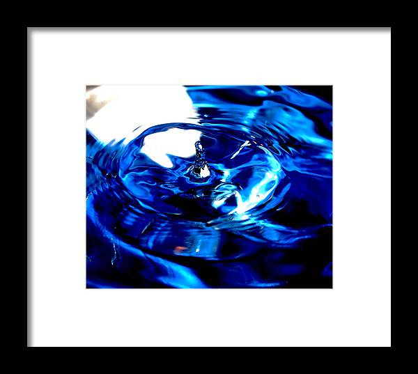 Water Framed Print featuring the photograph Water Spout 6 by Joshua Dwyer