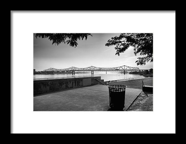 City Framed Print featuring the photograph Waterfront Park V by Steven Ainsworth