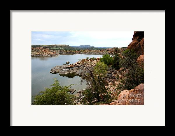 Prescott Framed Print featuring the photograph Watson Lake 2 by Julie Lueders