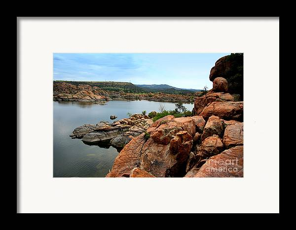 Prescott Framed Print featuring the photograph Watson Lake by Julie Lueders