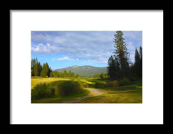 Wawona Hotel Framed Print featuring the photograph Wawona Meadow by Sarah Vandenbusch