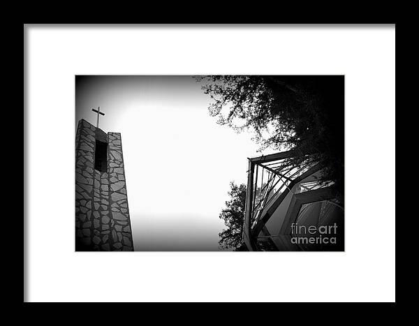 Wayfarer Framed Print featuring the photograph Wayfarer Chapel by Nicky Dou