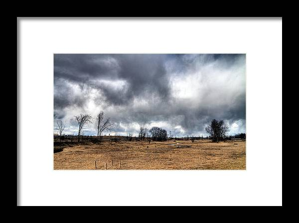 Acrylic Prints Framed Print featuring the photograph Weather by John Herzog