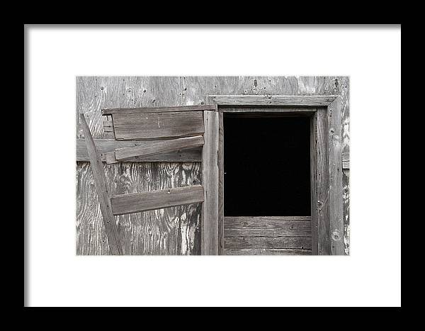 Old Framed Print featuring the photograph Weathered Granary 3 by David Kleinsasser