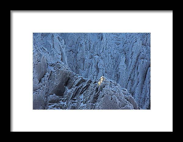 Granite Framed Print featuring the photograph Weathered Granite by Duncan Shaw