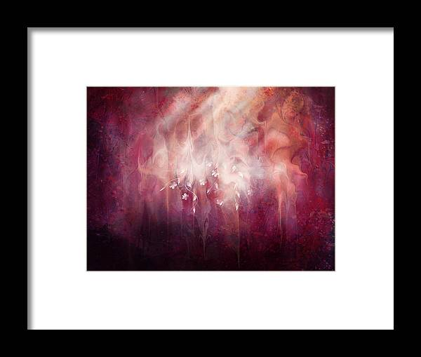 Landscape Framed Print featuring the digital art Weight of Glory by William Russell Nowicki