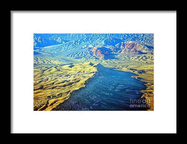 Red Rocks Framed Print featuring the photograph West Of Las Vegas Planet Earth by James BO Insogna