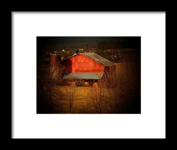 West Virginia Framed Print featuring the photograph West VA Barn by Joyce Kimble Smith
