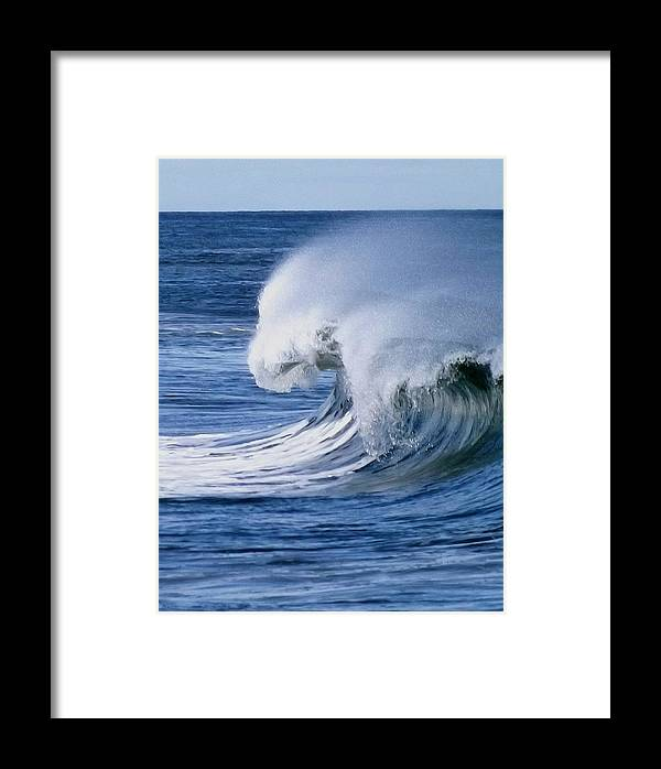 Jersey Shore Framed Print featuring the photograph West Wind by William Walker