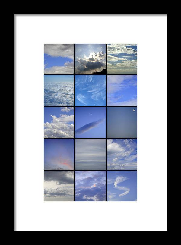 Sky Framed Print featuring the photograph What Lies Right Above by Roberto Alamino