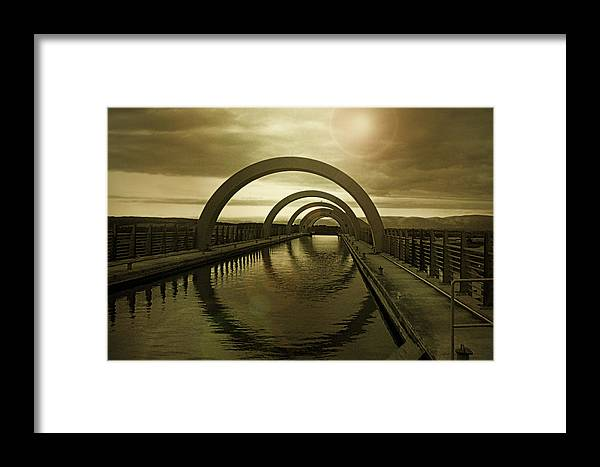 Wheel Framed Print featuring the photograph Wheel Of Fortune by Kevin Askew