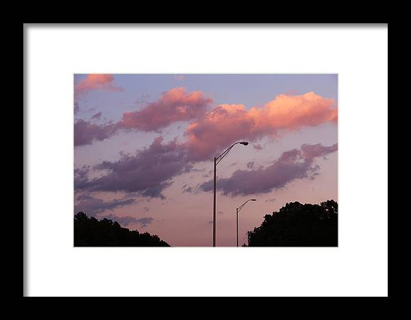 Whispers Of Sunset Framed Print featuring the photograph Whispers Of Sunset by Rachel Cohen