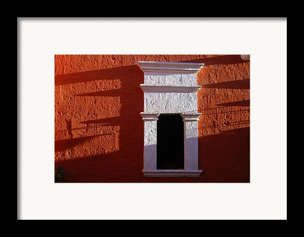 Monastery Framed Print featuring the photograph White Window by RicardMN Photography