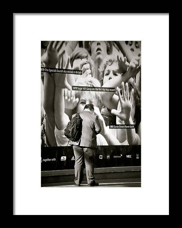 Jezcself Framed Print featuring the photograph Who Is Lost by Jez C Self