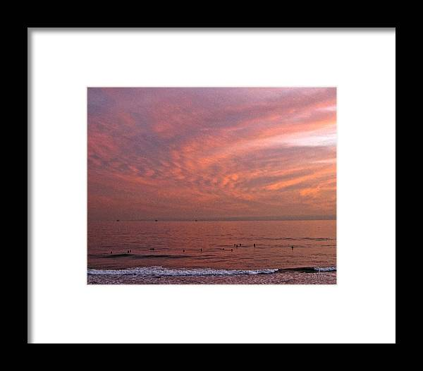 Surfer Framed Print featuring the photograph Who Needs Waves by Marie Morrisroe