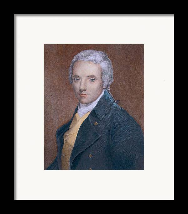 History Framed Print featuring the photograph William Wilberforce 1759-1833, British by Everett