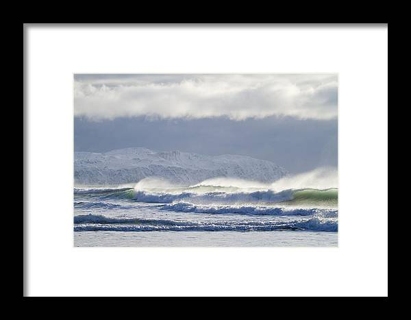 Alaska Framed Print featuring the photograph Wind And Waves by Tim Grams