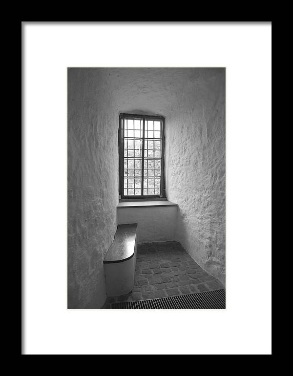 Window Framed Print featuring the photograph Window by Ama Arnesen