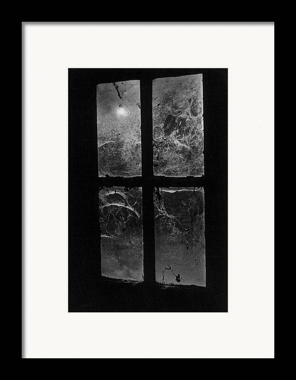 Halloween Framed Print featuring the photograph Window At Castle Frankenstein by Simon Marsden