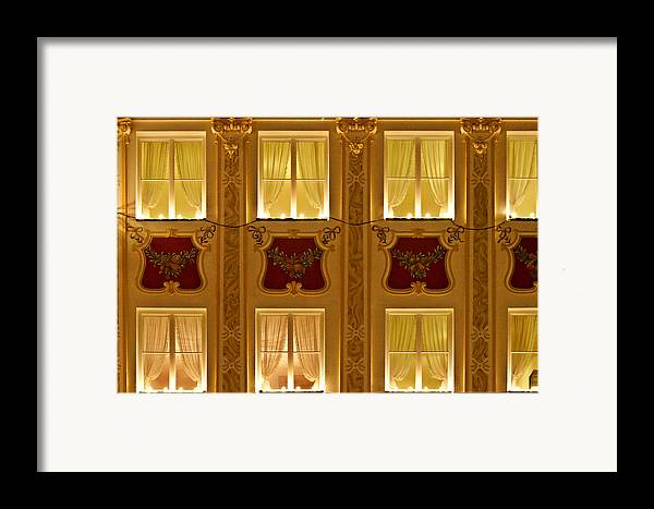 Candles Framed Print featuring the photograph Window Candles Nostalgia by Christine Till