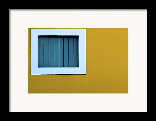 Horizontal Framed Print featuring the photograph Window by L F Ramos-Reyes
