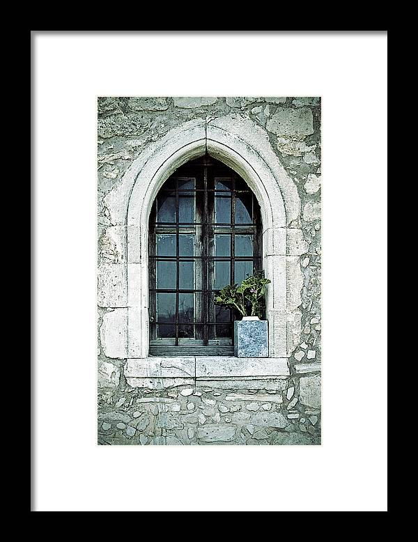 Windows Framed Print featuring the photograph Window Of A Chapel by Joana Kruse