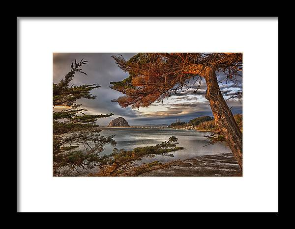 Morro Bay Framed Print featuring the photograph Windy Cove by Beth Sargent