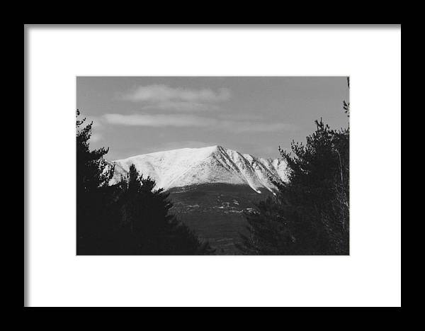 Mountain Framed Print featuring the photograph Winter Bliss by Hollie Cyr