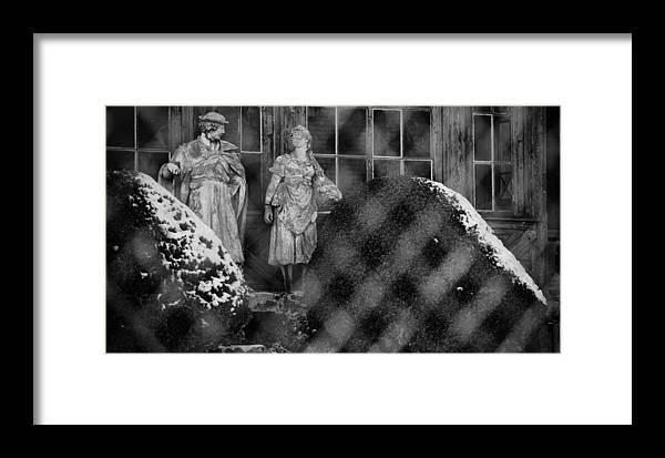 Nagymaros Framed Print featuring the photograph Winter Mood by Tibor Puski