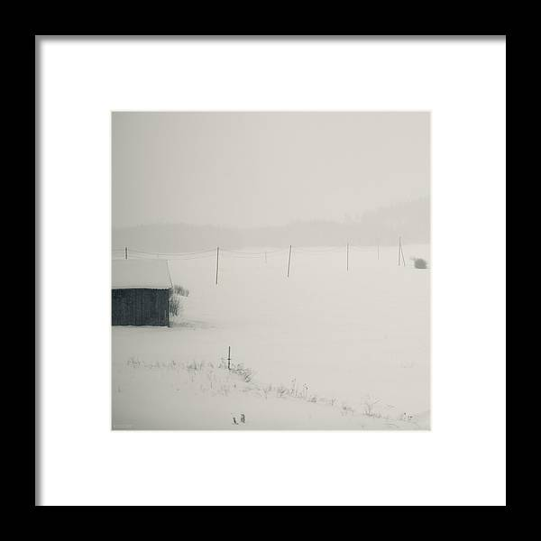 Finland Framed Print featuring the photograph Winter World #1 by Nikolay Krusser