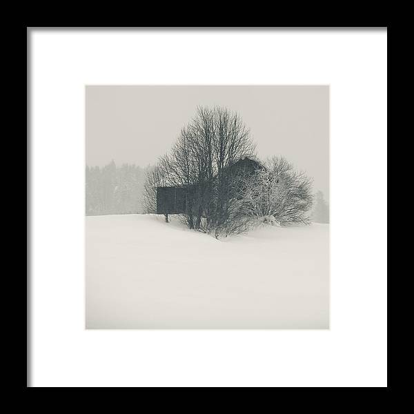 Finland Photographs Framed Print featuring the photograph Winter World #2 by Nikolay Krusser