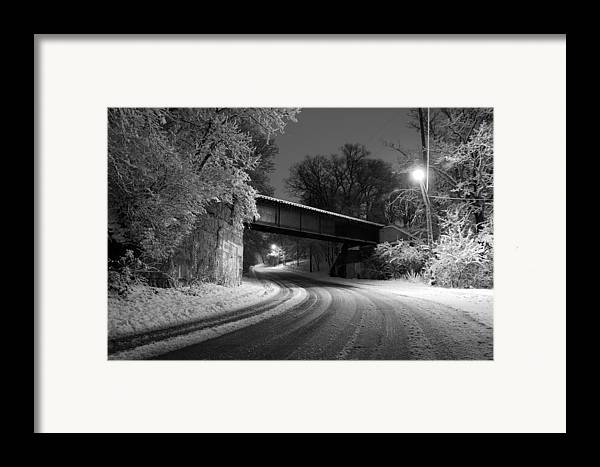 Appleton Framed Print featuring the photograph Winter's Beauty by Joel Witmeyer