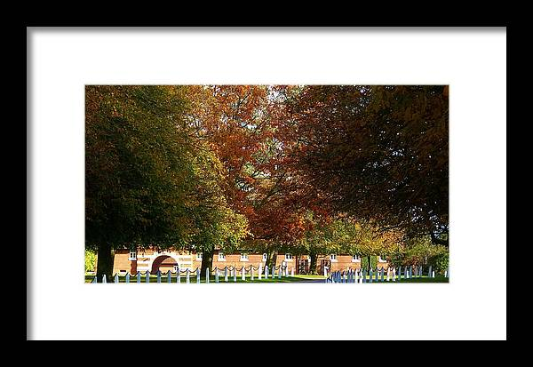Wiseton Framed Print featuring the photograph Wiseton Hall Stables by John Dunbar