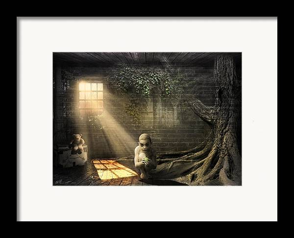 Abandoned Framed Print featuring the photograph Wishing Play Room by Svetlana Sewell