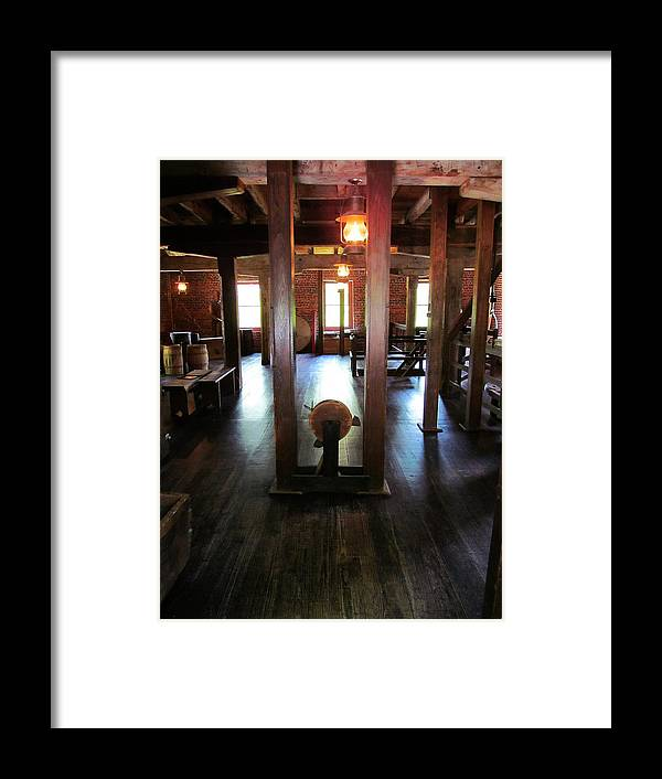 Mill Framed Print featuring the photograph Wooden't U by Phil Cappiali Jr