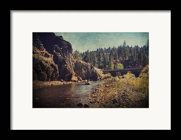 Carson River Framed Print featuring the photograph Words Left Unspoken by Laurie Search