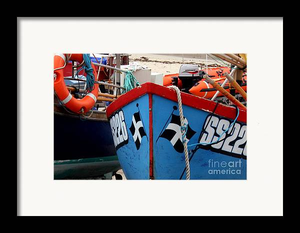 Harbour Framed Print featuring the photograph Working Harbour by Terri Waters