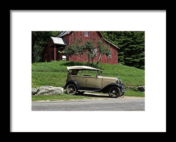 Automobile Framed Print featuring the photograph Workshop by Tom Heeter