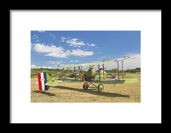 1916 Framed Print featuring the photograph Worl War One 1916 Royal Aircraft F.e.8 Canvas Photo Poster Print by Keith Webber Jr