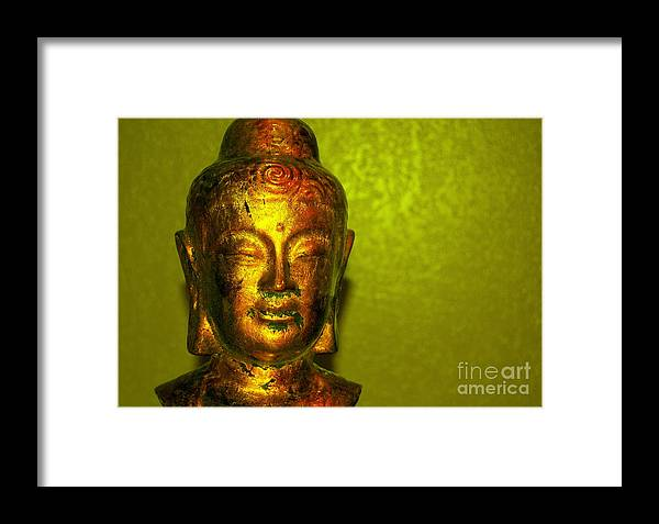 Buddha Framed Print featuring the photograph Y-buddha by Melanie D Cervantes