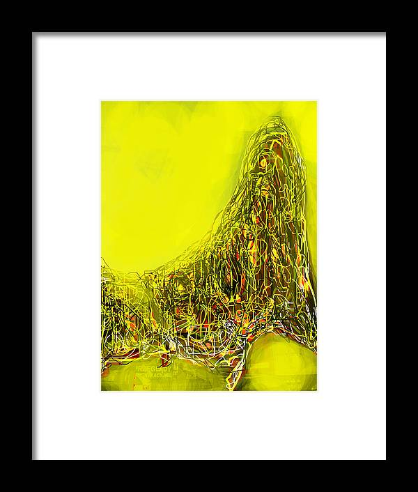 Yellow Framed Print featuring the photograph Yellow by Hongo Hongo