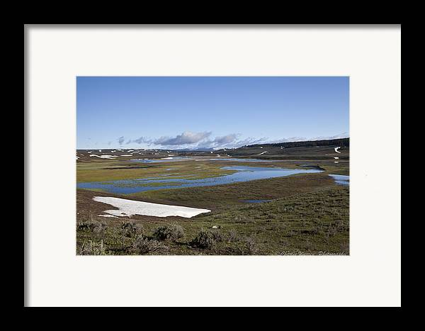 Yellowstone Framed Print featuring the photograph Yellowstone Plateau by Charles Warren