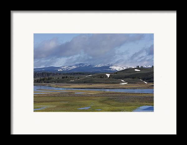 Yellowstone Framed Print featuring the photograph Yellowstone Vista 10 by Charles Warren