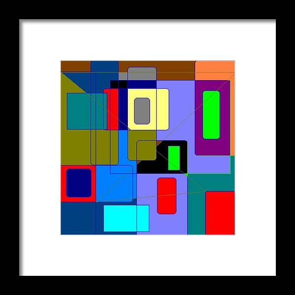 Cheyene And Patricia Lopez Arts And Photography Abstract Art By Cheyene M. Lopez Framed Print featuring the photograph Yikes by Patricia Borelli