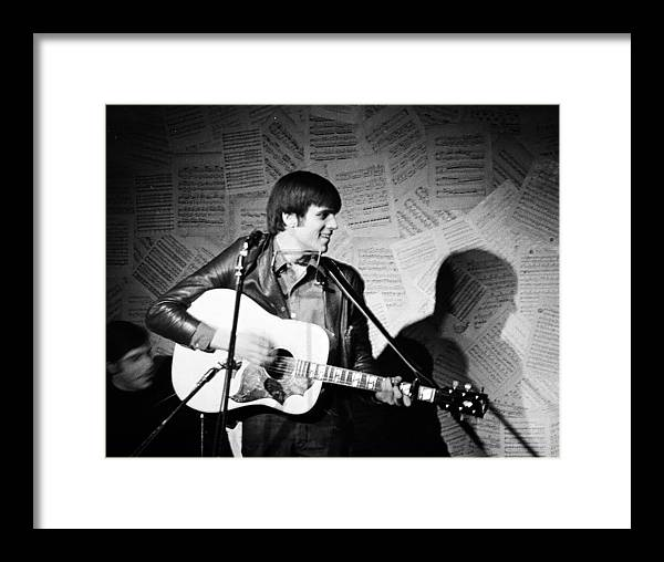 American Framed Print featuring the photograph Young Folk Legend by Glenn McCurdy