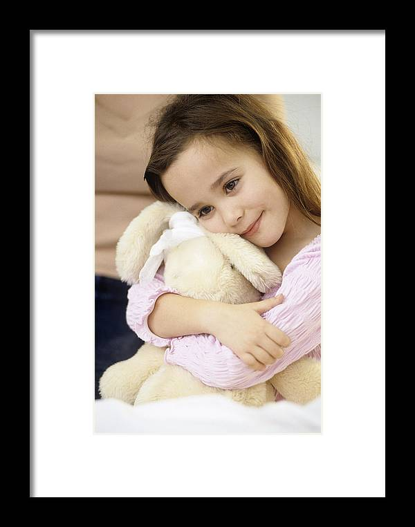 Toy Framed Print featuring the photograph Young Girl by Adam Gault