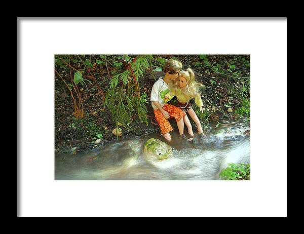 Barbie Framed Print featuring the photograph Young Love Barbie and Ken by John Banegas