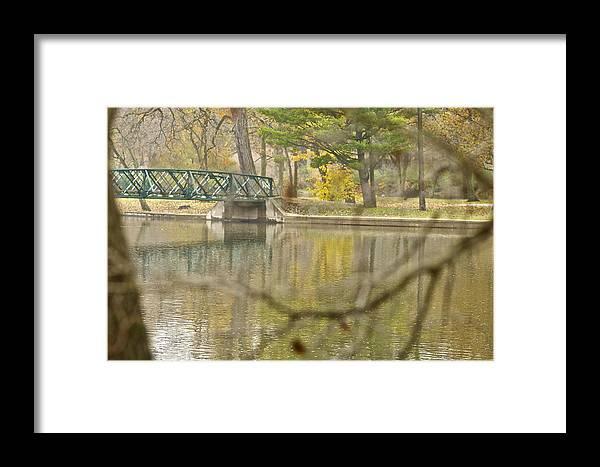 Bridge Framed Print featuring the photograph Bridge Revealed by Robert Joseph