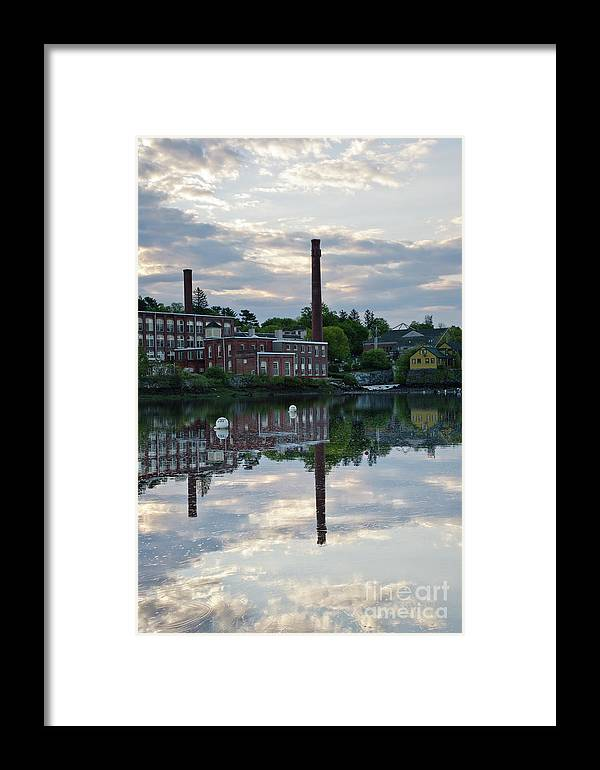 Landscape Framed Print featuring the photograph Exeter New Hampshire Usa by Erin Paul Donovan